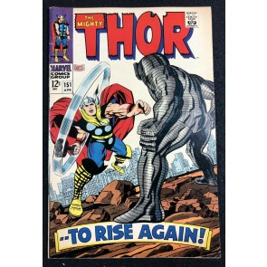 Thor (1966) #151 FN+ (6.5) Destroyer cover Inhumans origin part 6 of 7