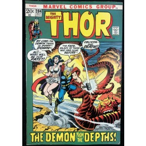 Thor (1966) #204 FN+ (6.5) Mephisto app picture frame cover