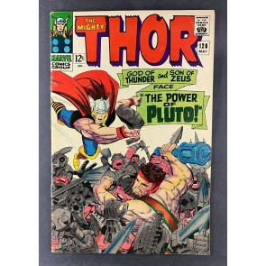 Thor (1966) #128 FN- (5.5) Pluto Classic Jack Kirby Hercules Cover 1st Titans