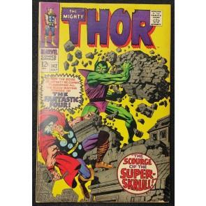 Thor (1966) #142 VG/FN (5.0) The Super Skrull Jack Kirby Cover & Art