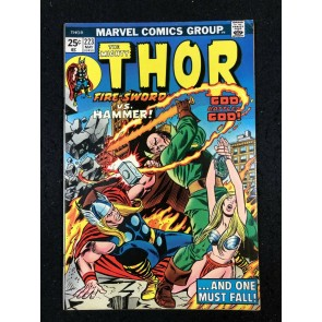 Thor (1966) #223 FN/VF (7.0) With Hercules & Pluto War God