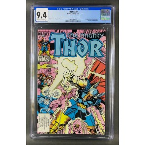Thor (1966) #339 CGC 9.4 1st App Stormbreaker Off-White White Pages (3821182007)