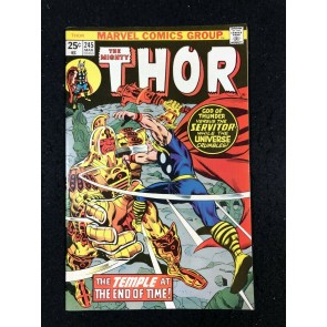 Thor (1966) #245 VF+ (8.5) vs Time Twisters