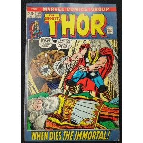 Thor (1966) #198 FN (6.0) Mangog Odin Picture Frame John Buscema Cover