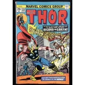 Thor (1966) #233 FN+ (6.5) Asgaurd Invades Earth