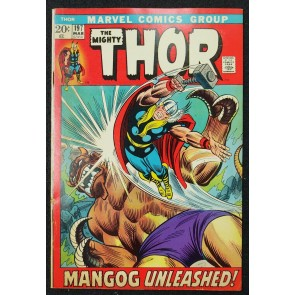 Thor (1966) #197 VG/FN (5.0) Mangog Battle Picture Frame John Romita Cover