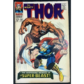 Thor (1966) #135 VG+ (4.5) Origin of High Evolutionary