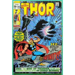 Thor (1966) #185 VG/FN (5.0) 2nd app Infinity & Silent One