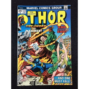 Thor (1966) #223 VF- (7.5) With Hercules & Pluto War God