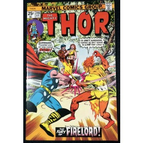 Thor (1966) #246 NM- (9.2) Firelord Cover and Story
