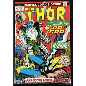 Thor (1966) #217 NM (9.4) Thor vs Odin