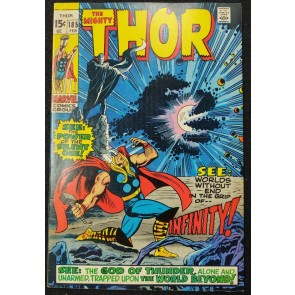 Thor (1966) #185 FN+ (6.5) 1st Appearance The Guardian / Infinity John Buscema