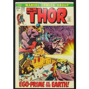 Thor (1966) #202 FN (6.0) 1st App Jason Kimball Picture Frame Cover John Buscema