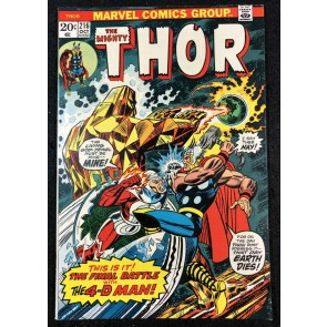 Thor (1966) #216 NM- (9.2) vs Xorr & Mecurio