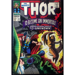Thor (1966) #136 FN/VF (7.0) Re-Intro Lady Sif