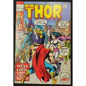 Thor (1966) #179 FN/VF (7.0) Neal Adams Jack Kirby