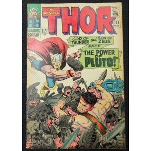 Thor (1966) #128 FN/VF (7.0) Jack Kirby Cover & Art Pluto 1st Titans/Beast-Fish