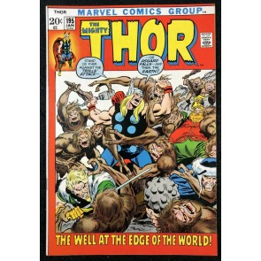 Thor (1966) # 195 VF/NM (9.0) Mangog Returns Picture Frame Cover