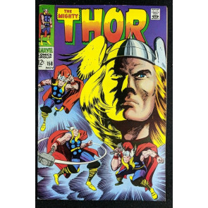 Thor (1966) #158 VF- (7.5) origin Donald Blake part 1 of 2