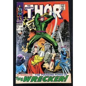 Thor (1966) #148 VF+ (8.5) 1st app Wrecker Inhuman Origin part 3 of 7