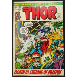 Thor (1966) #199 FN (6.0) 1st App Gygather / Ego Prime Picture Frame Cover
