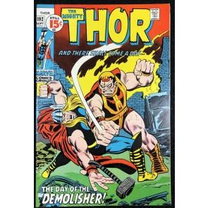 Thor (1966) #192 VF- (7.5) vs Demolisher