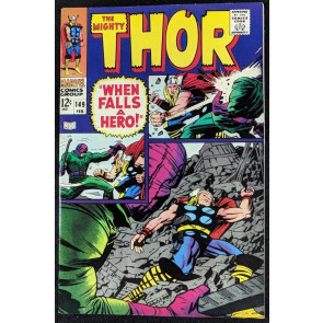 Thor (1966) #149 VF+ (8.5) Inhumans origin part 4 of 7