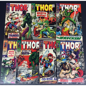 Thor (1966) 146 147 148 149 150 151 152 complete Inhumans origin set 7 parts