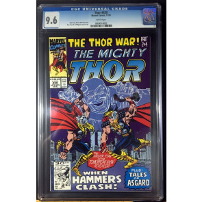 Thor (1966) #439 CGC 9.6 white pages Thor War part 2 of 4 (0804916002)