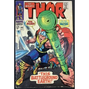 Thor (1966) #144 VG+ (4.5) Vs Enchasters Pat 2 of 2