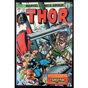 Thor (1966) #231 VF- (7.5) Hercules App
