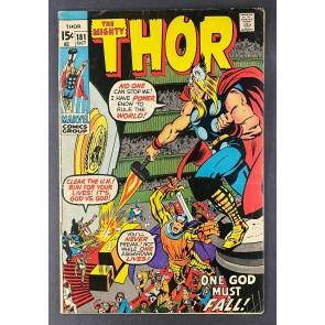 Thor (1966) # 181 FN (6.0) Neal Adams Cover