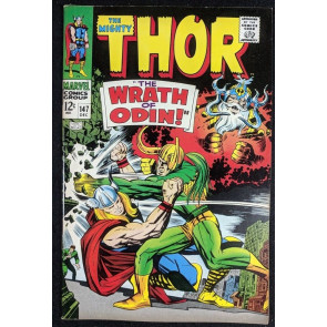 Thor (1966) #147 VF (8.0) Inhumans origin part 2 of 7 Loki cover