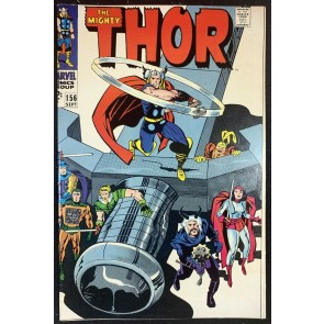 Thor (1966) #156 VF (8.0) Vs Mangag