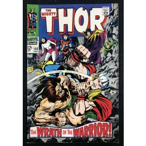 Thor (1966) #152 FN/VF (7.0) vs Destroyer & Ulik Inhumans origin part 7 of 7