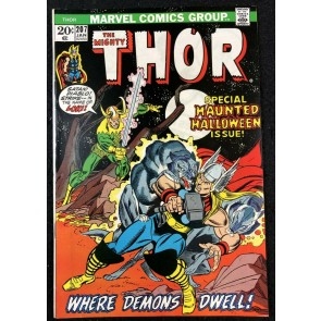 Thor (1966) #207 NM- (9.2) Rutland Vermont Halloween cross-over