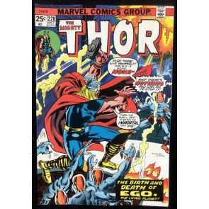 Thor (1966) #228 VF+ (8.5) with Hercules Firelord Galactus Vs Ego