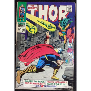 Thor (1966) #143 FN (6.0) vs Enchanters