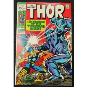 Thor (1966) #167 VF- (7.5) Thermal Man John Romita Cover Art Jack Kirby Art