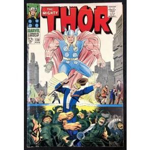 Thor (1966) #138 FN+ (6.5) versus Ulik