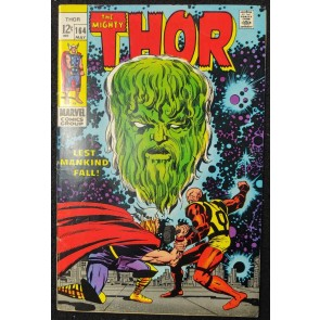 Thor (1966) #164 FN+ (6.5) 1st Appearance Athena Jack Kirby Cover & Art