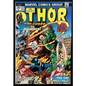 Thor (1966) #223 VF+ (8.5) With Hercules & Pluto War God