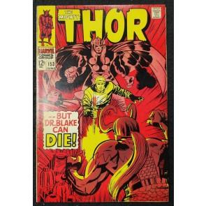 Thor (1966) #153 FN/VF (7.0) Loki Donald Blake Jack Kirby Cover & Art