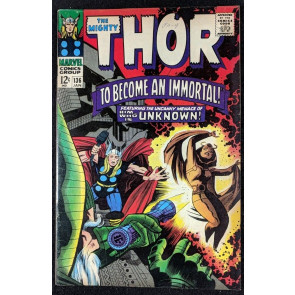 Thor (1966) #136 FN (6.0) re-intro Lady Sif