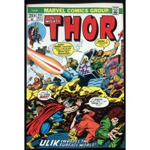 Thor (1966) #211 VF/NM (9.0)  Vs Ulik