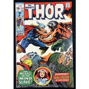 Thor (1966) #172 FN+ (6.5) Jane Foster app