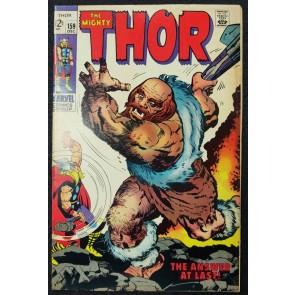 Thor (1966) #159 FN (6.0) Thor/Dr. Donald Blake Origin Jack Kirby Cover & Art