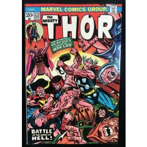 Thor (1966) #222 VF (8.0) With Hercules & Pluto War God