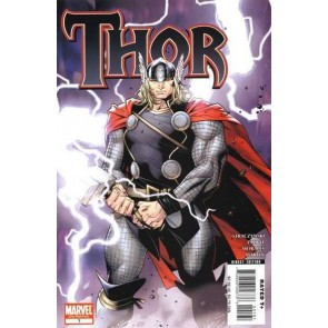 Thor (2007) #1 VF/NM Oliver Coipel 2nd Printing Variant Cover