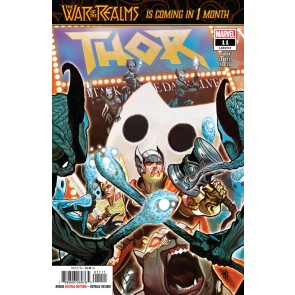 Thor (2018) #11 (#717) VF/NM Mike Del Mundo Cover The War of the Realms